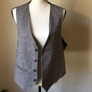 90s Handmade Button Vest